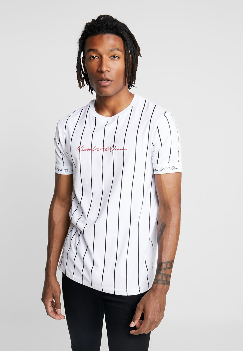 Kings Will Dream - CLIFTON - T-shirts med print - white/red