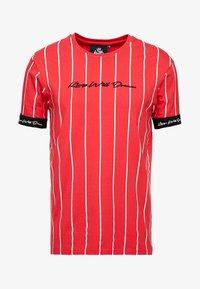 Kings Will Dream - T-shirt med print - red/white - 4