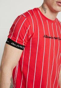 Kings Will Dream - T-shirt med print - red/white - 5