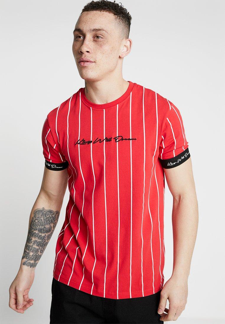 Kings Will Dream - T-shirt med print - red/white