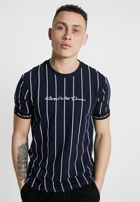 Kings Will Dream - T-shirt con stampa - navy/white - 0