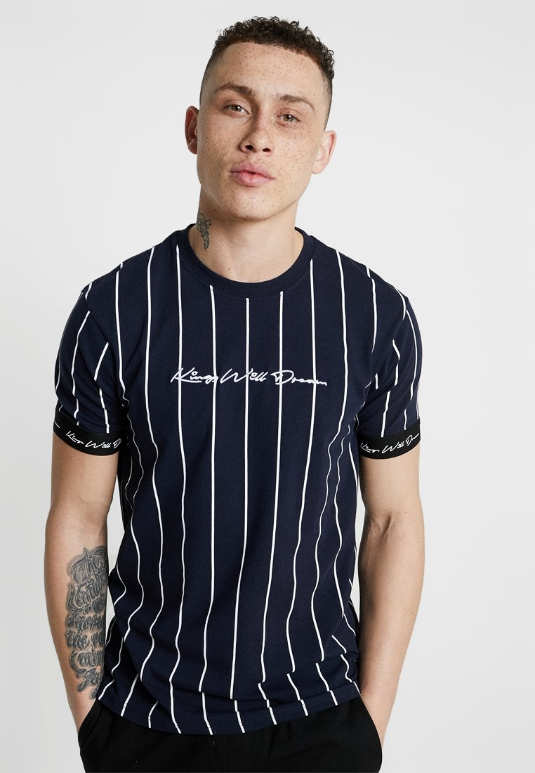 Kings Will Dream - T-shirt con stampa - navy/white