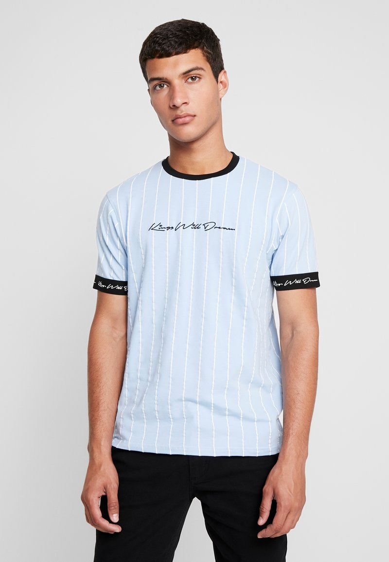 Kings Will Dream - CLIFTON - T-shirts med print - light blue
