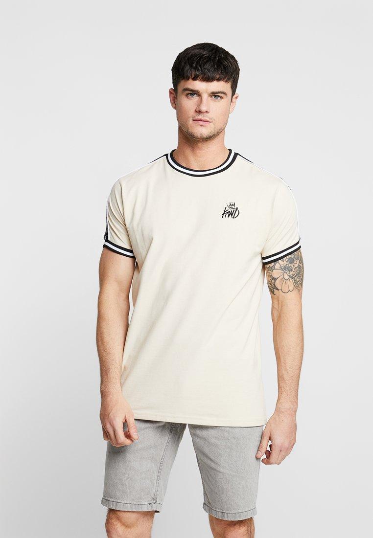 Kings Will Dream - SEATON TEE - T-shirt basic - sand