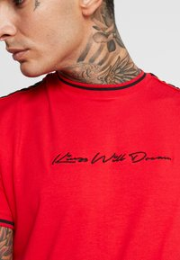 Kings Will Dream - DENSON - T-shirt con stampa - red - 5