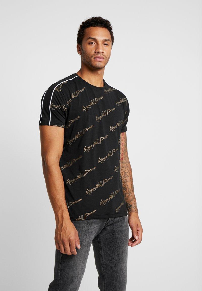 Kings Will Dream - SCRIPT - Print T-shirt - black