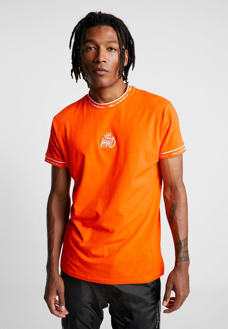 Kings Will Dream - NELSON NEON - T-shirt con stampa - pop orange
