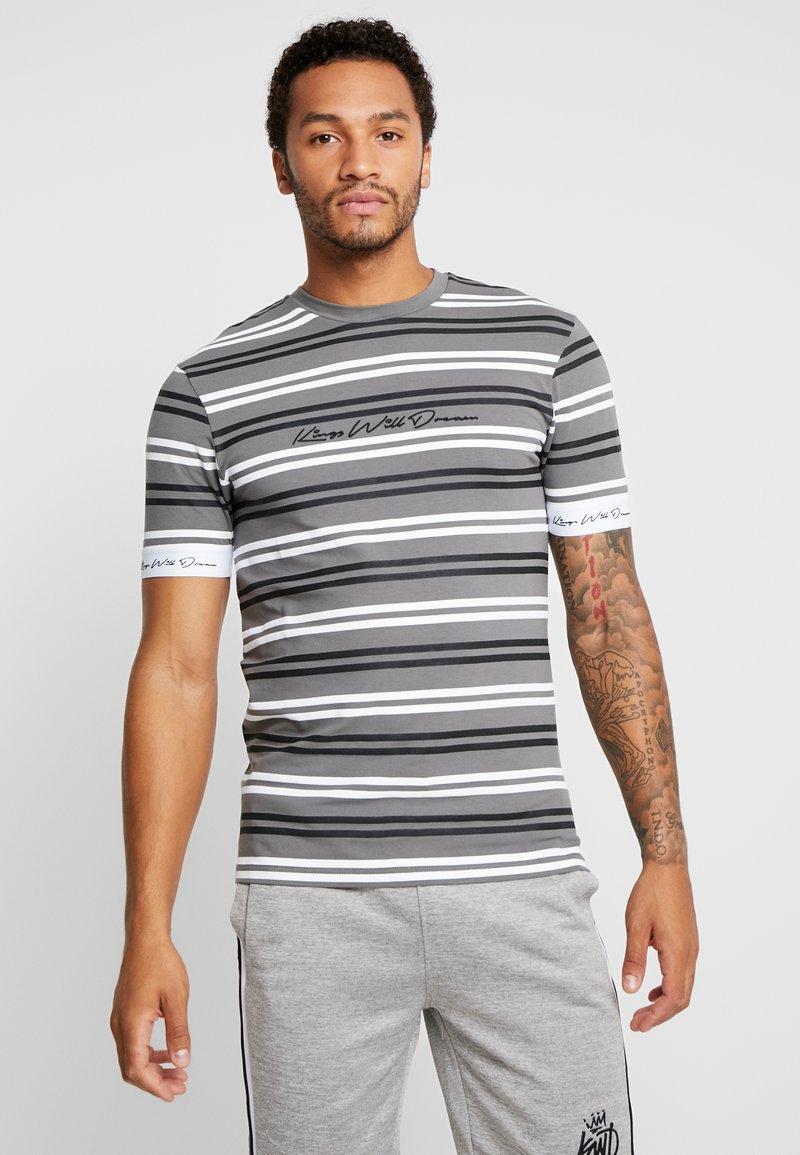 Kings Will Dream - DIVISION TEE - T-shirt imprimé - grey