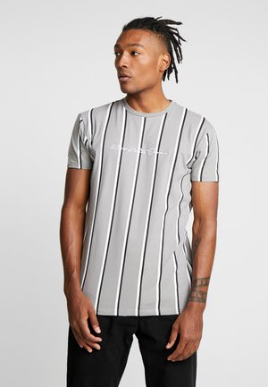MOFFAT WITH VERTICAL STRIPE - T-shirt med print - grey