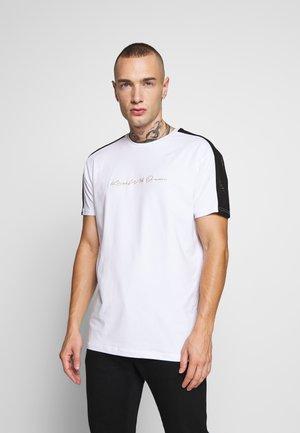 DREAM GLOTRON  - T-shirt med print - white