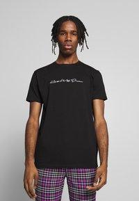 Kings Will Dream - 2 PACK - T-shirt med print - black/white - 2