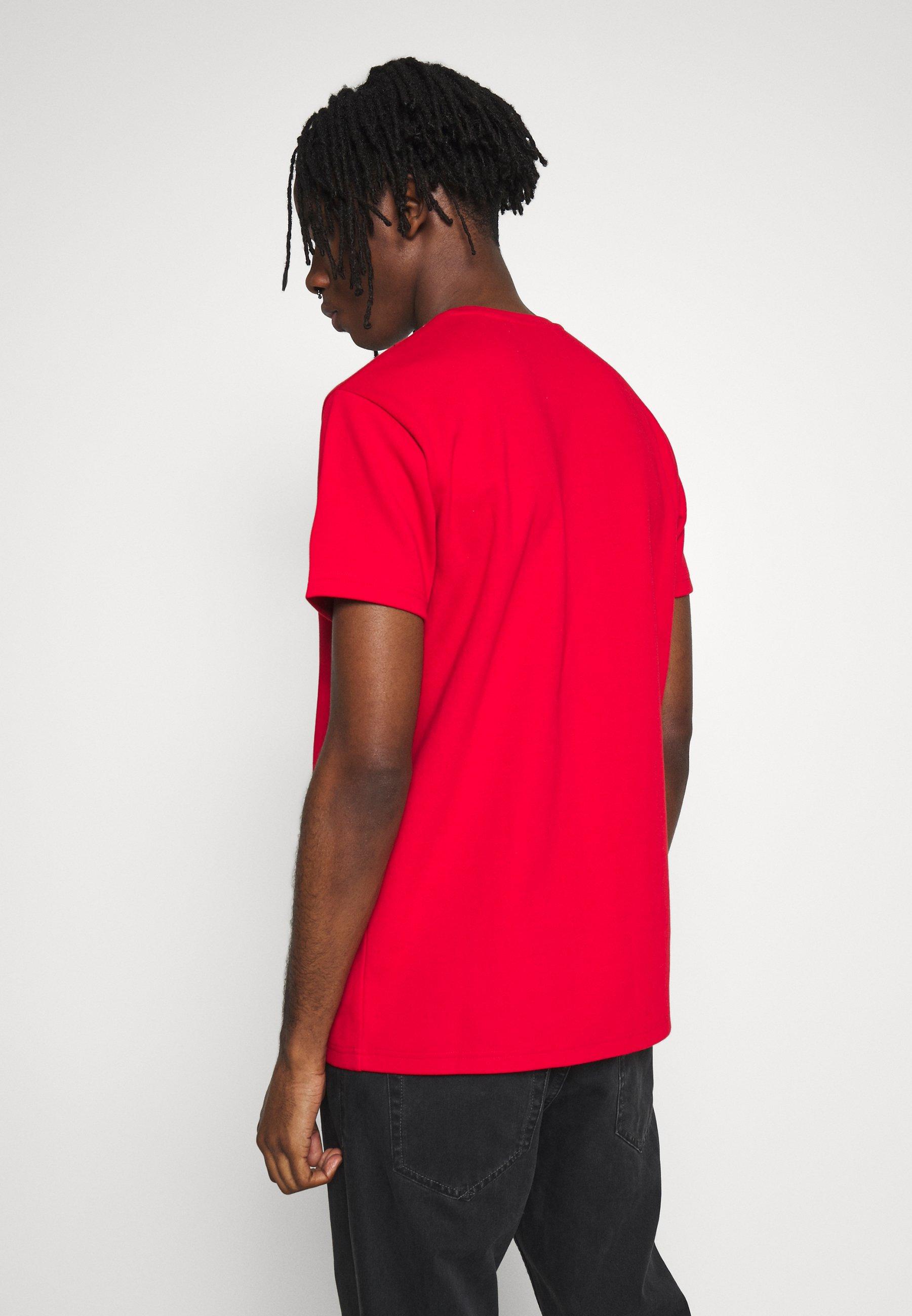 Kings Will Dream KINGS WILL DREAM SIGNATURE RED - T-shirt z nadrukiem - red