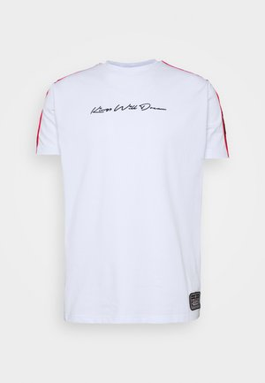 FAIRFIELD - T-shirt con stampa - white