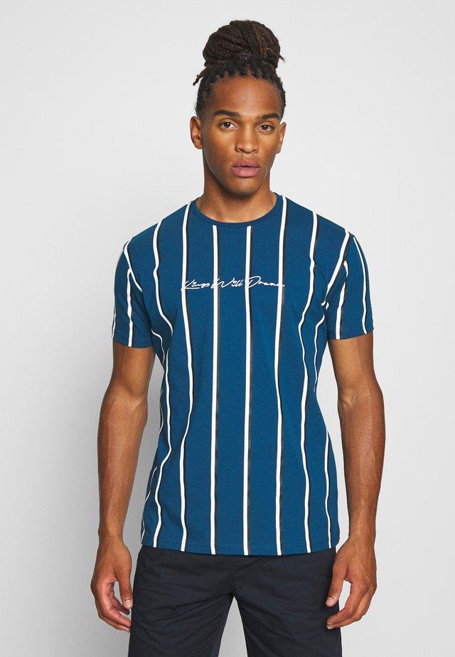 KINGS WILL DREAM MOFFAT - T-shirt con stampa - sailor blue