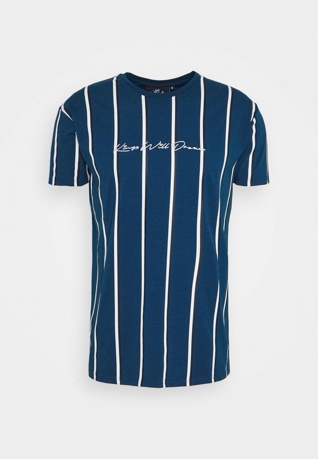 MOFFAT - Printtipaita - sailor blue