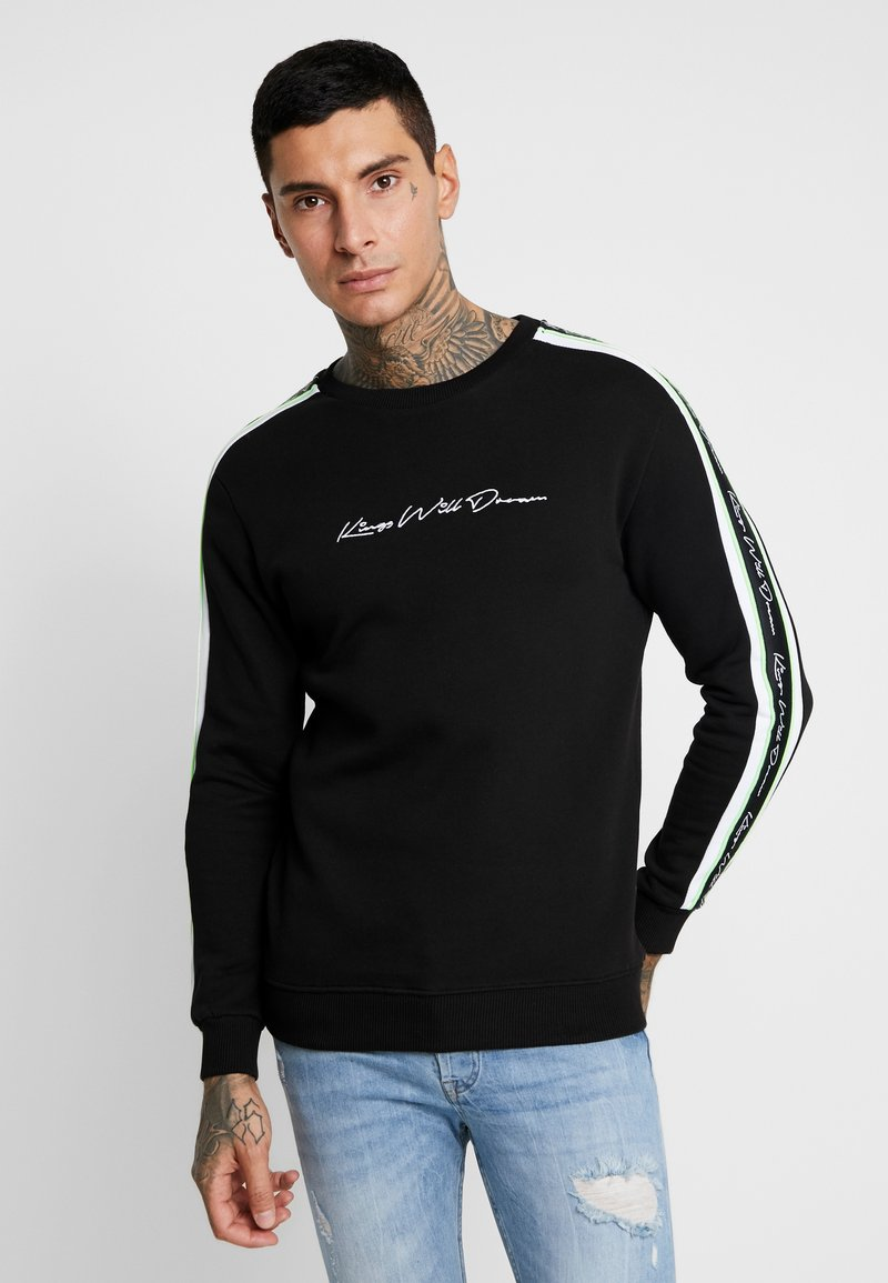 Kings Will Dream - ROSLEY - Sweatshirt - black/neon