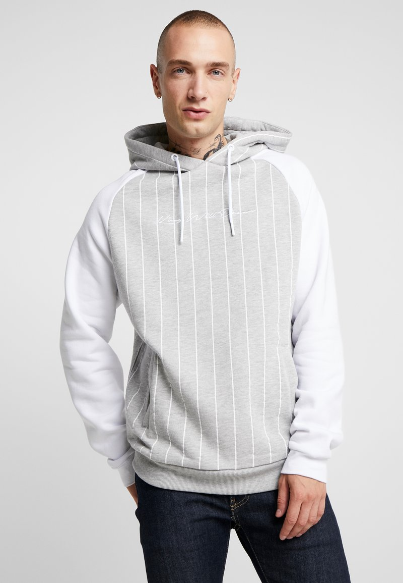Kings Will Dream - TAYLOR RAGLAN HOODIE - Hoodie - grey/white