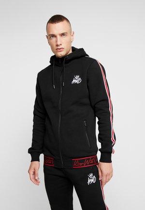 ELLERBECK - Zip-up hoodie - black