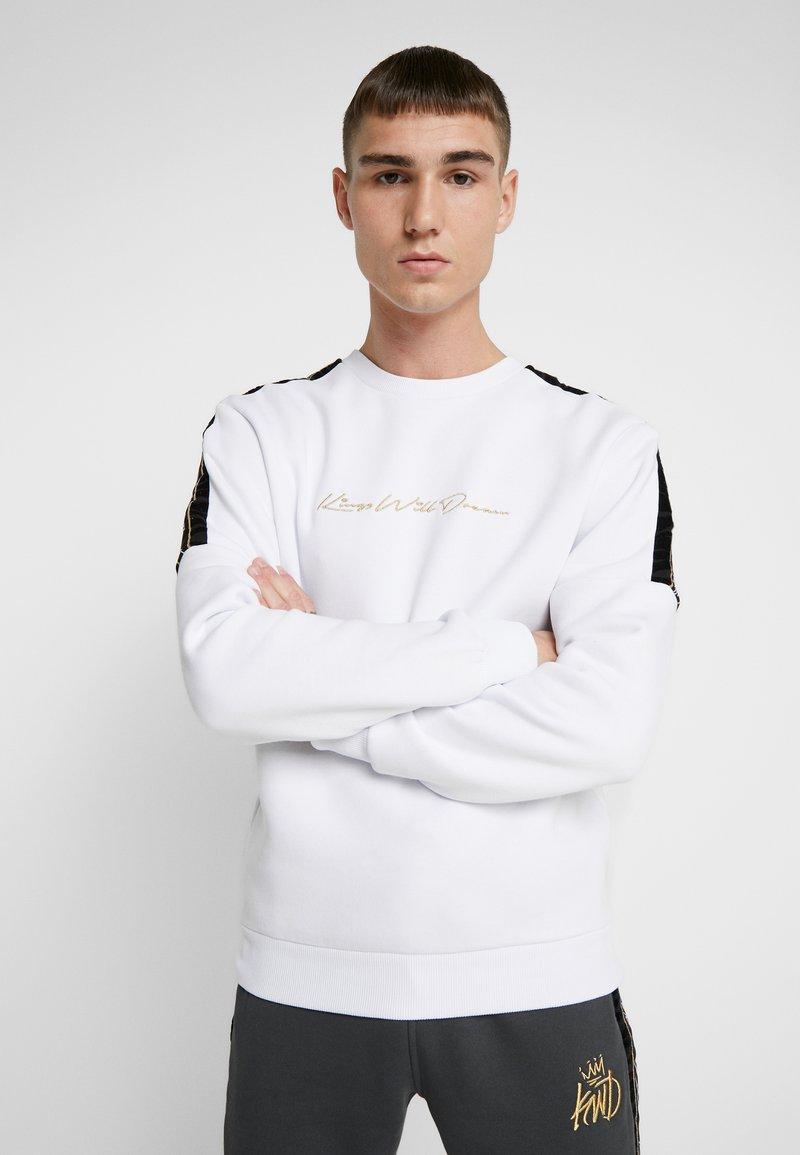 Kings Will Dream - ZEBRA - Sweatshirt - white