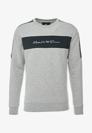 NOSTON WITH SIGNATURE LOGO - Sweatshirt - grey