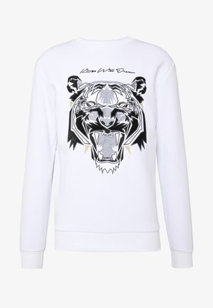 DEMON VELOUR  - Sweatshirt - white
