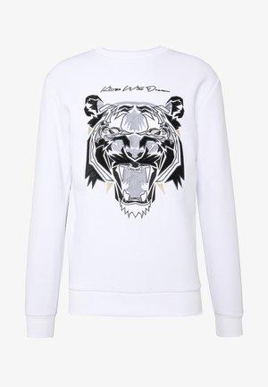 DEMON VELOUR  - Bluza - white