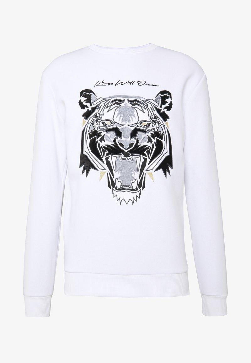 Kings Will Dream - DEMON VELOUR  - Sweatshirt - white
