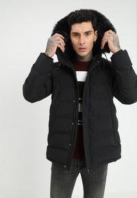 Kings Will Dream - FROST - Zimní kabát - jet black - 0