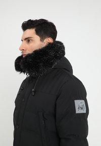 Kings Will Dream - FROST - Zimní kabát - jet black - 5