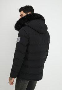Kings Will Dream - FROST - Zimní kabát - jet black - 2
