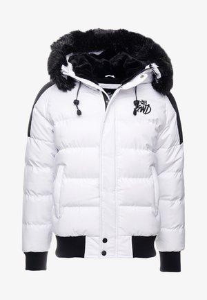 BRANTON SHORT - Zimní bunda - white