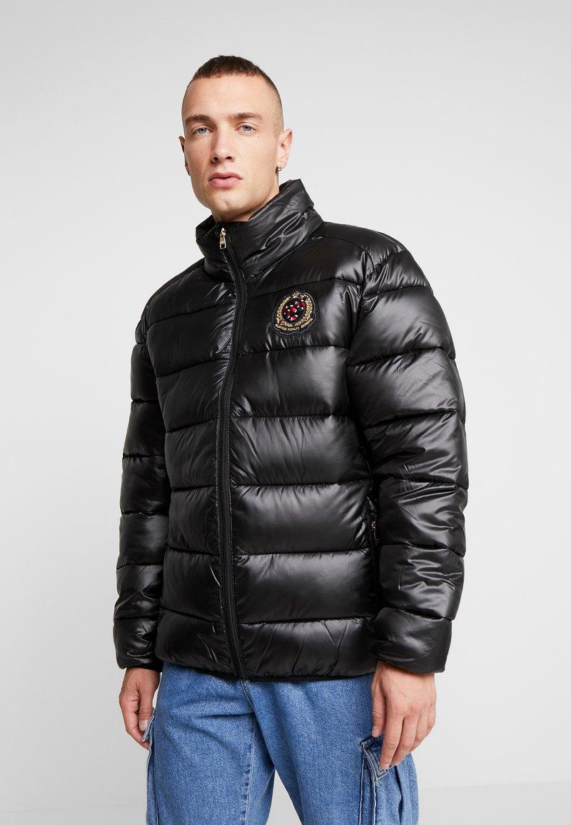 Glorious Gangsta - KAPPLIN PUFFER JACKET - Zimní bunda - black