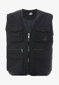 Kings Will Dream - KINGS WILL DREAM MILVIEW UTILITY VEST  - Waistcoat - black - 4
