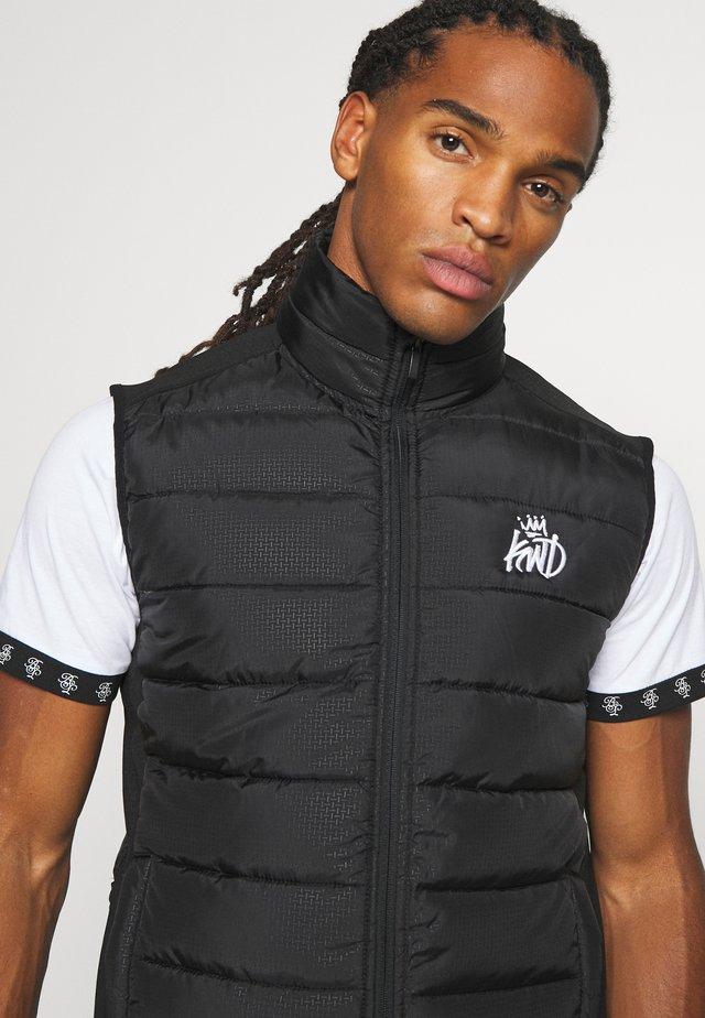 MORST HYBRID GILET - Vest - black