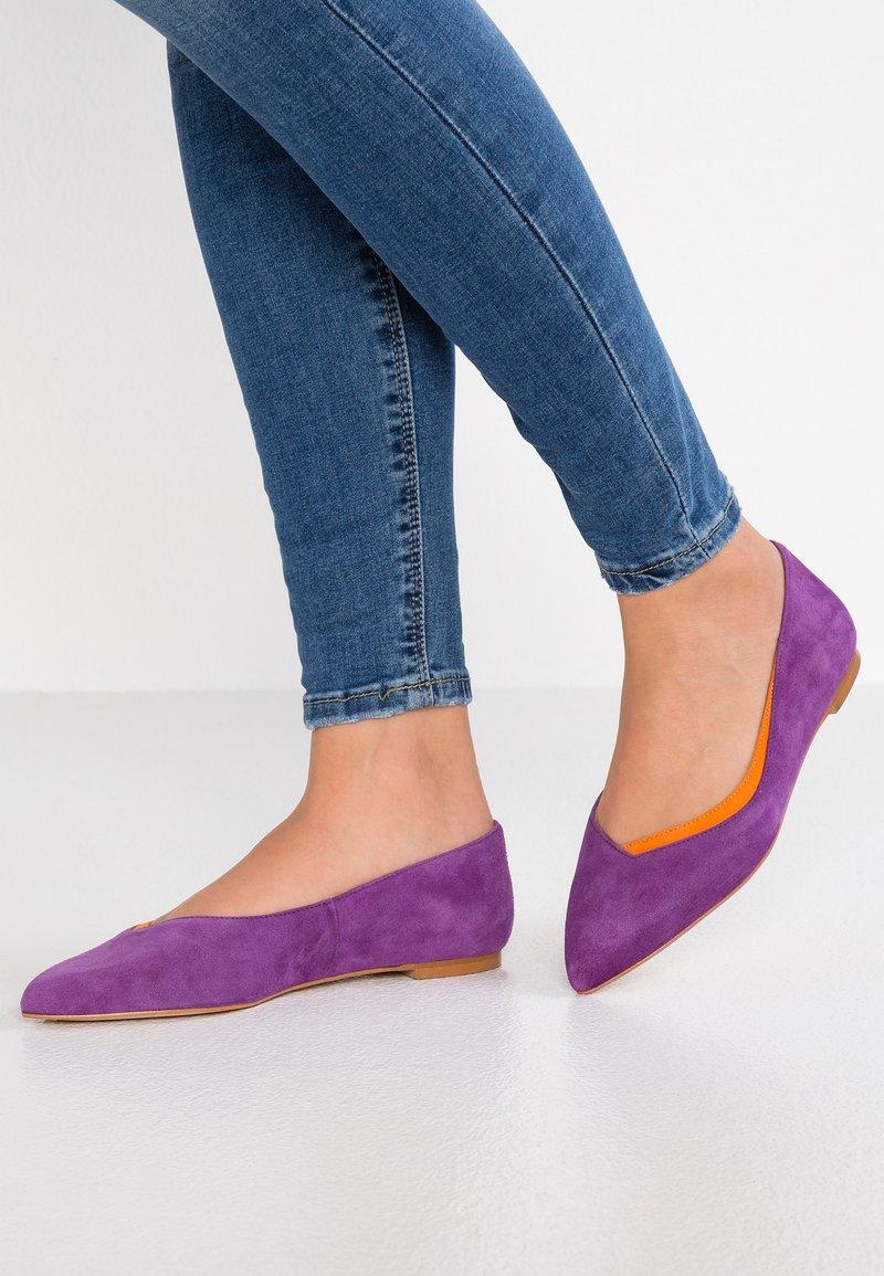 KIOMI Wide Fit - Ballet pumps - lilac