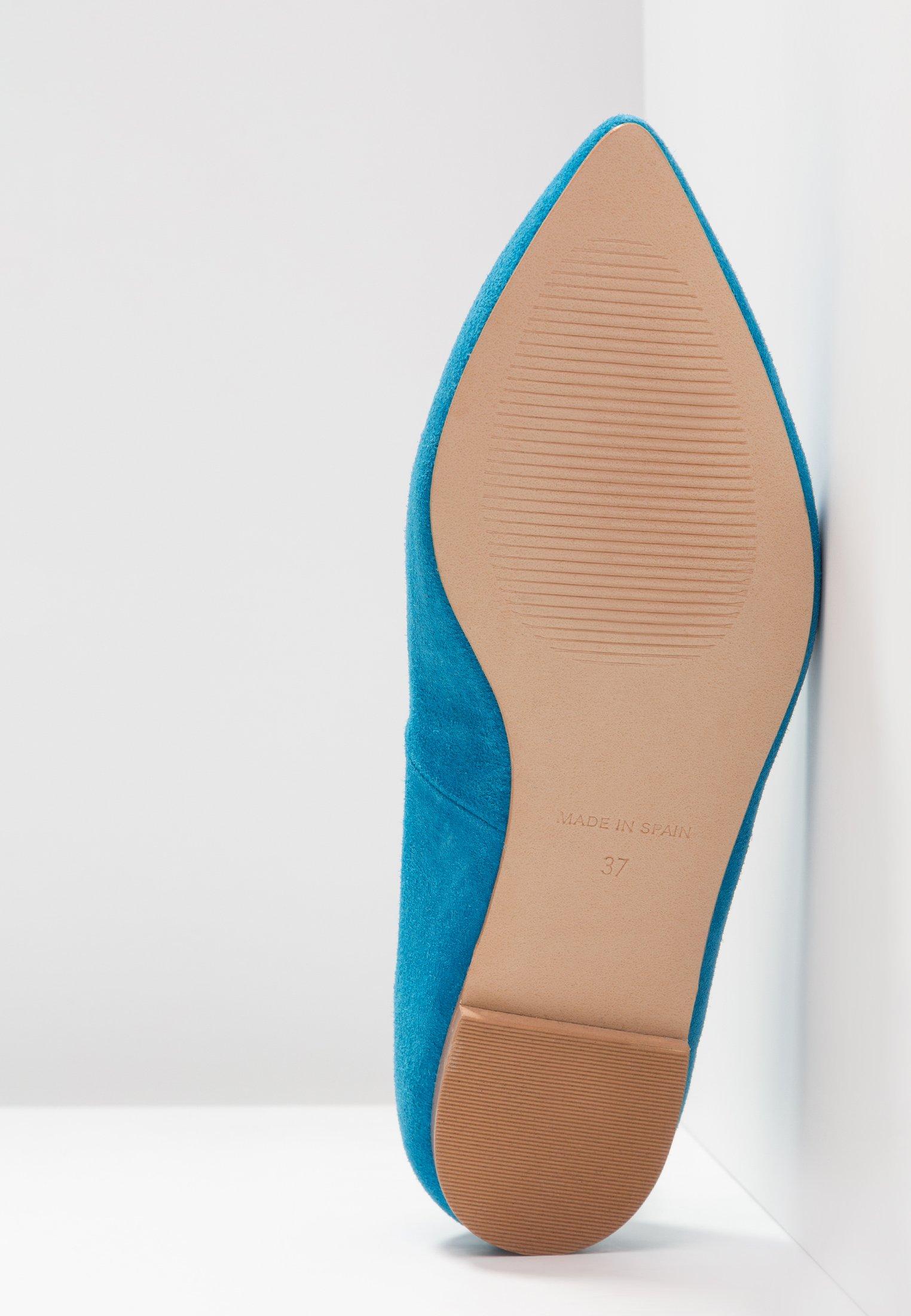 KIOMI Wide Fit Baleriny - turquoise
