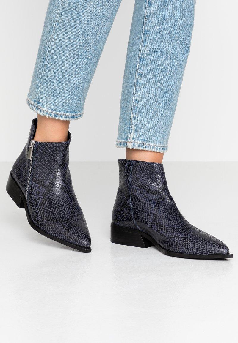 KIOMI Wide Fit - Ankle boots - dark blue