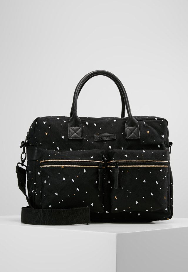 DIAPERBAG - Wickeltasche - black
