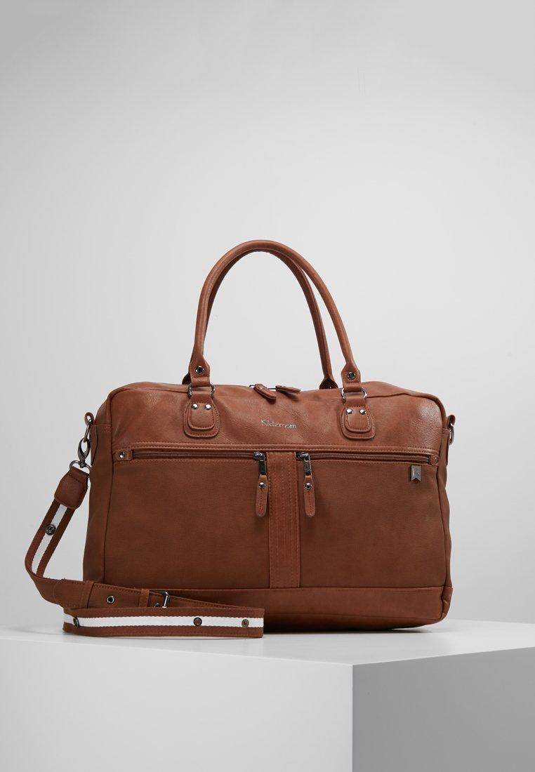 Kidzroom - DE LUXE DIAPERBAG - Baby changing bag - brown