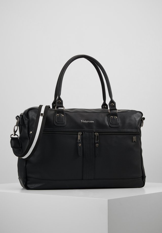 DE LUXE DIAPERBAG - Wickeltasche - black