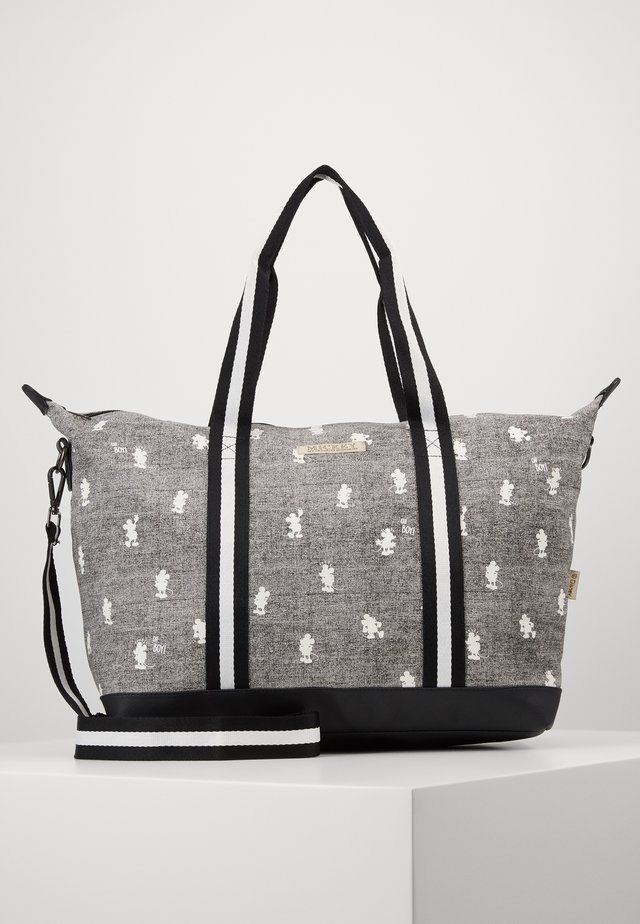 SHOPPING BAG MICKEY MOUSE MY FAVOURITE MEMORIES - Wickeltasche - grey