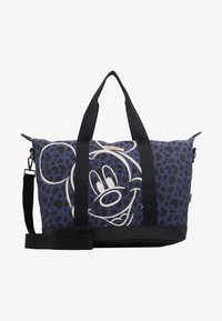 Kidzroom - SHOPPING BAG MICKEY MOUSE MY FAVOURITE MEMORIES BLACK - Weekend bag - black - 5
