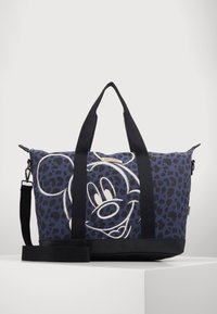 Kidzroom - SHOPPING BAG MICKEY MOUSE MY FAVOURITE MEMORIES BLACK - Weekend bag - black - 0