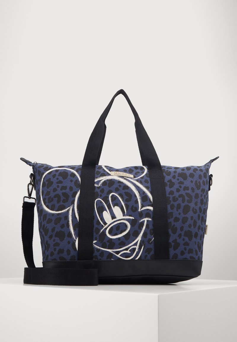 Kidzroom - SHOPPING BAG MICKEY MOUSE MY FAVOURITE MEMORIES BLACK - Weekend bag - black
