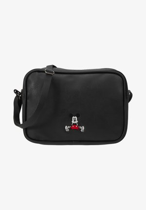 SCHOUDERTAS MICKEY MOUSE STAY CLASSY - Across body bag - black