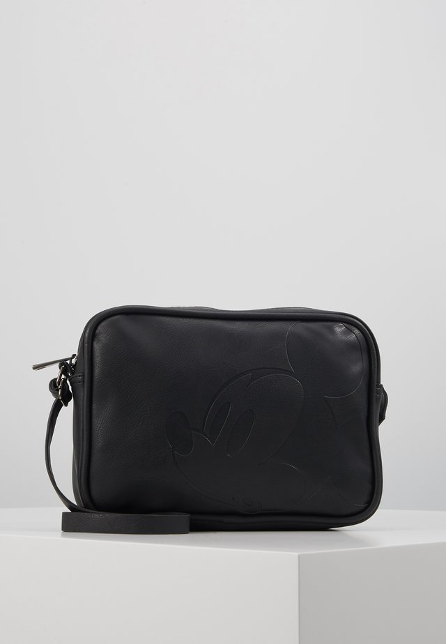 SCHOUDERTAS MICKEY MOUSE STAY CLASSY - Across body bag - black