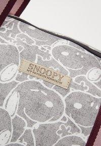 Kidzroom - SHOPPING BAG SNOOPY MY FAVOURITE MEMORIES - Velká kabelka - grey - 2