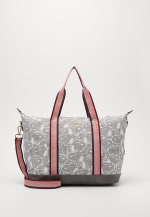 SHOPPING BAG SNOOPY MY FAVOURITE MEMORIES - Shopper - grey