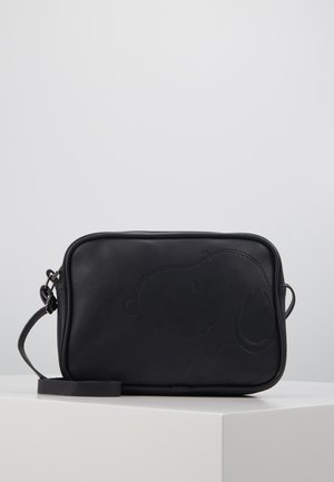 SHOULDER BAG SNOOPY STAY CLASSY - Umhängetasche - black