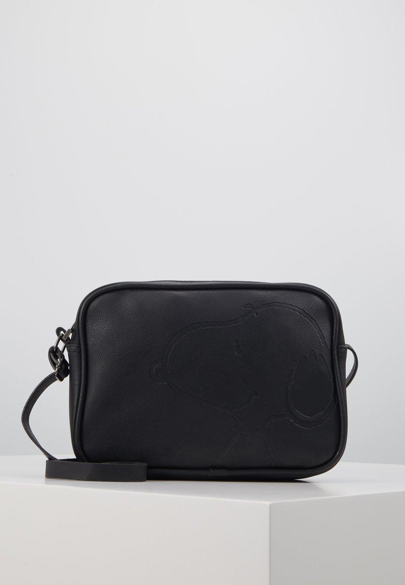 Kidzroom - SHOULDER BAG SNOOPY STAY CLASSY - Skulderveske - black
